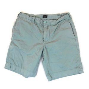 "J.Crew Stanton Men's Green Shorts Inseam 9"""